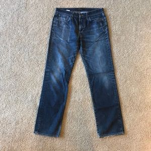 "Joe's ""the classic"" lightly worn jeans"